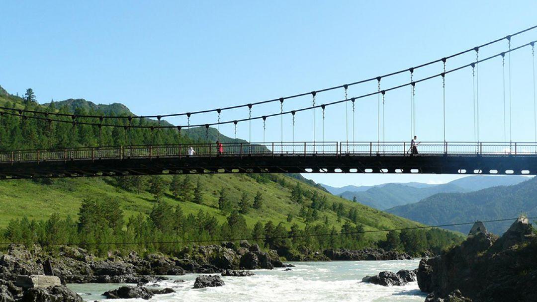 По Чемальскому тракту до водопада Бельтир-Туюк в Алтае