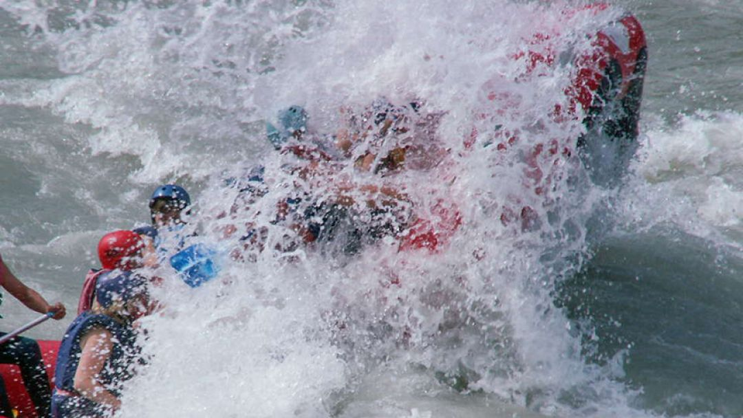 Сплавы по Катуни заходом на Камышлинский водопад - фото 2