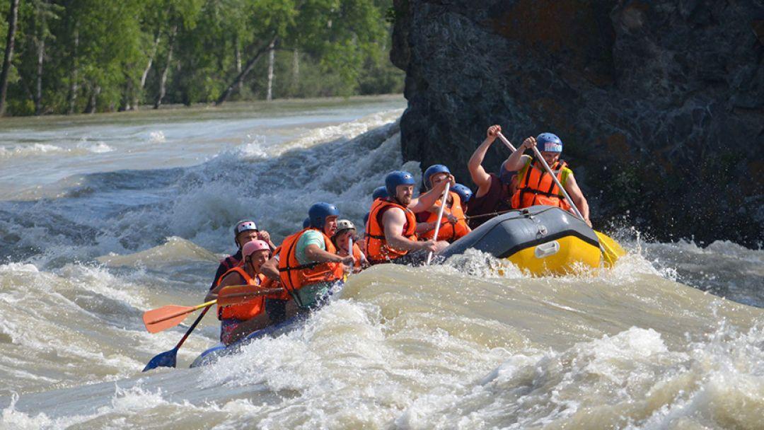Сплавы по Катуни заходом на Камышлинский водопад - фото 3