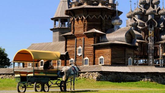 Экскурсия Кижи через Великую Губу в Петрозаводске