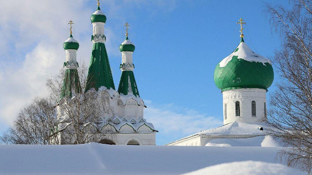Экскурсия Рождественская поездка в монастырь Александра Свирского