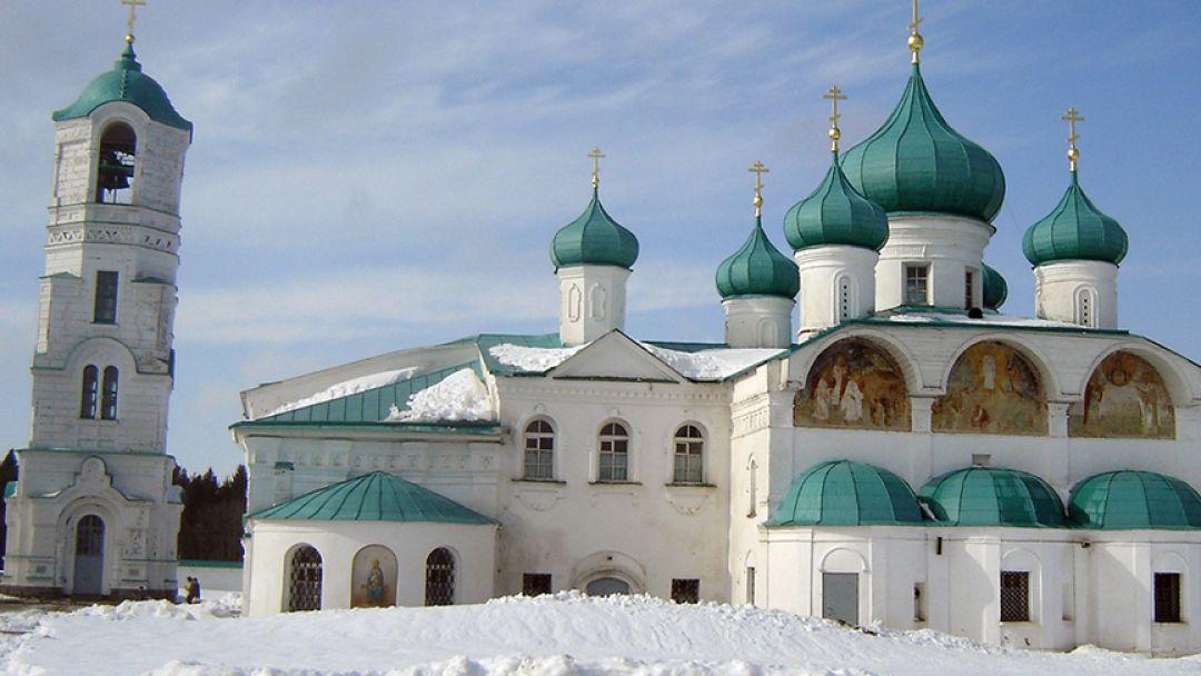 Рождественская поездка в монастырь Александра Свирского - фото 2