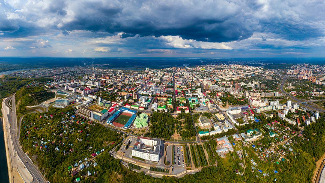 Уфа - восточная точка Европы (зима) - фото 3