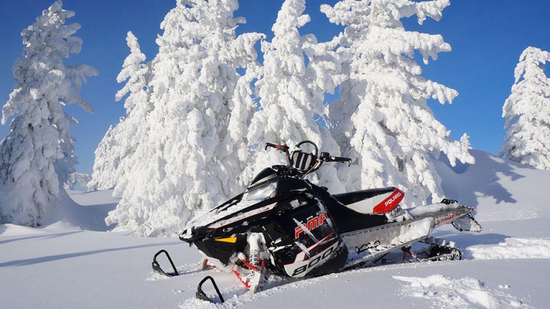 Покорение уральских вершин на снегоходе, тур на 3 дня - фото 1
