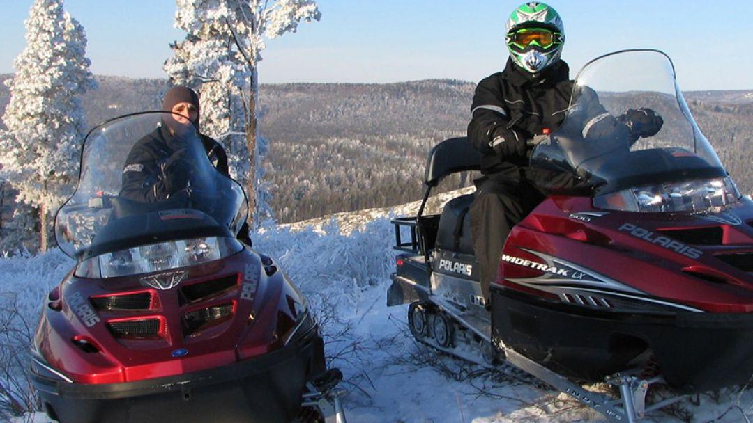 Покорение уральских вершин на снегоходе, тур на 3 дня - фото 2