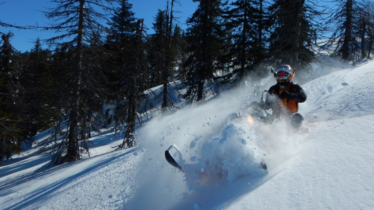 Экскурсия Уральские перевалы на снегоходе, тур на 5 дней по Уфе