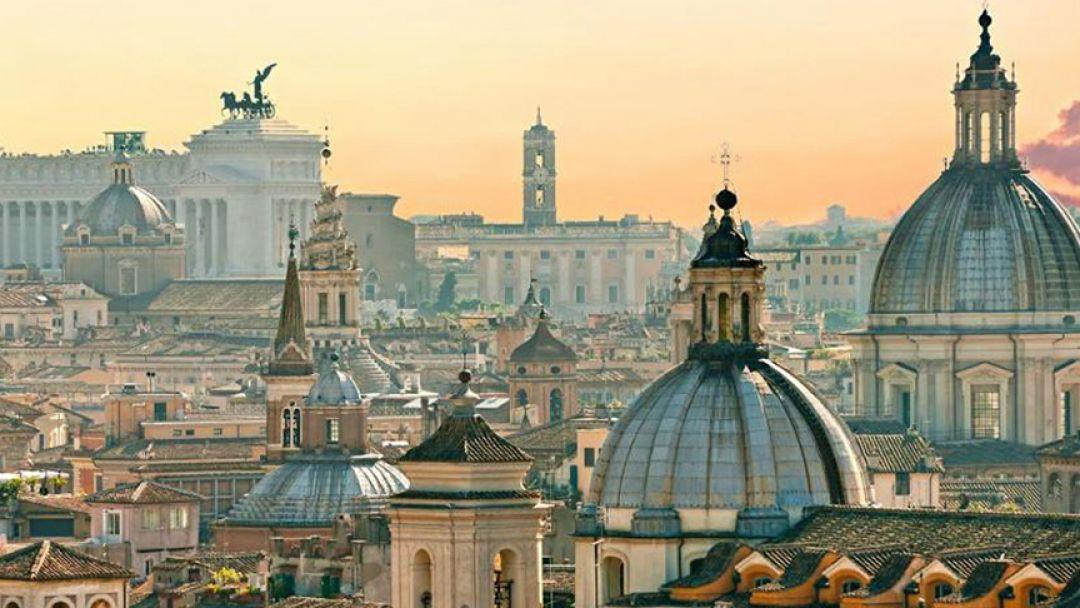 Первый раз в Ватикане в Риме