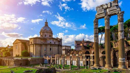 Экскурсия Обзорная экскурсия на автомобиле по Риму