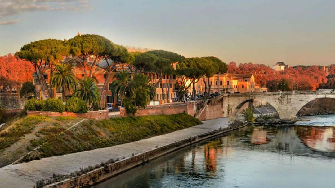 Трастевере,  Тиберина И Римское гетто