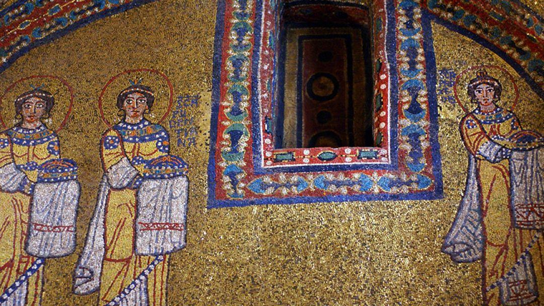 Средневековые Христианские мозаики в Риме - фото 2