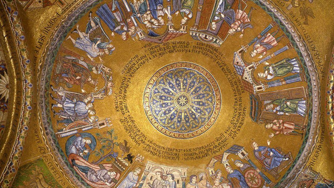Средневековые Христианские мозаики в Риме - фото 3