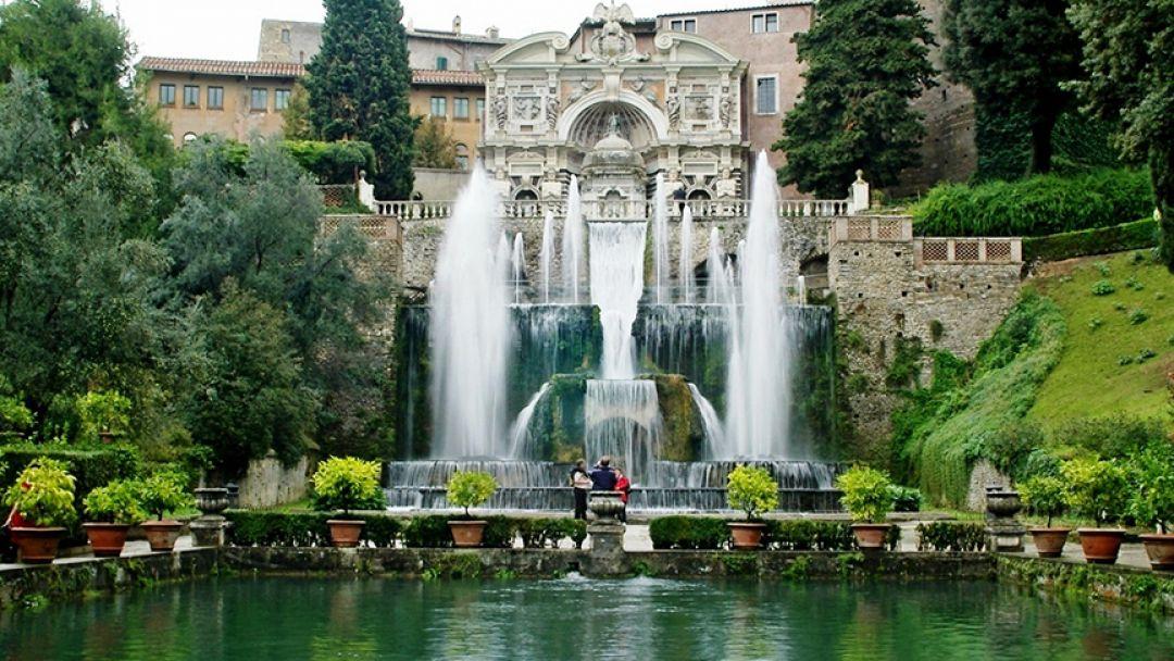 Прародительница Петергофа и Версаля - Вилла Д`Эсте в Тиволи в Риме