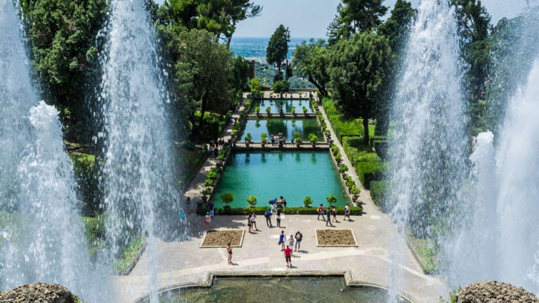 Прародительница Петергофа и Версаля - Вилла Д`Эсте в Тиволи - фото 2