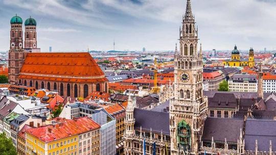 Экскурсия Обзорная пешеходная экскурсия по Мюнхену по Мюнхену