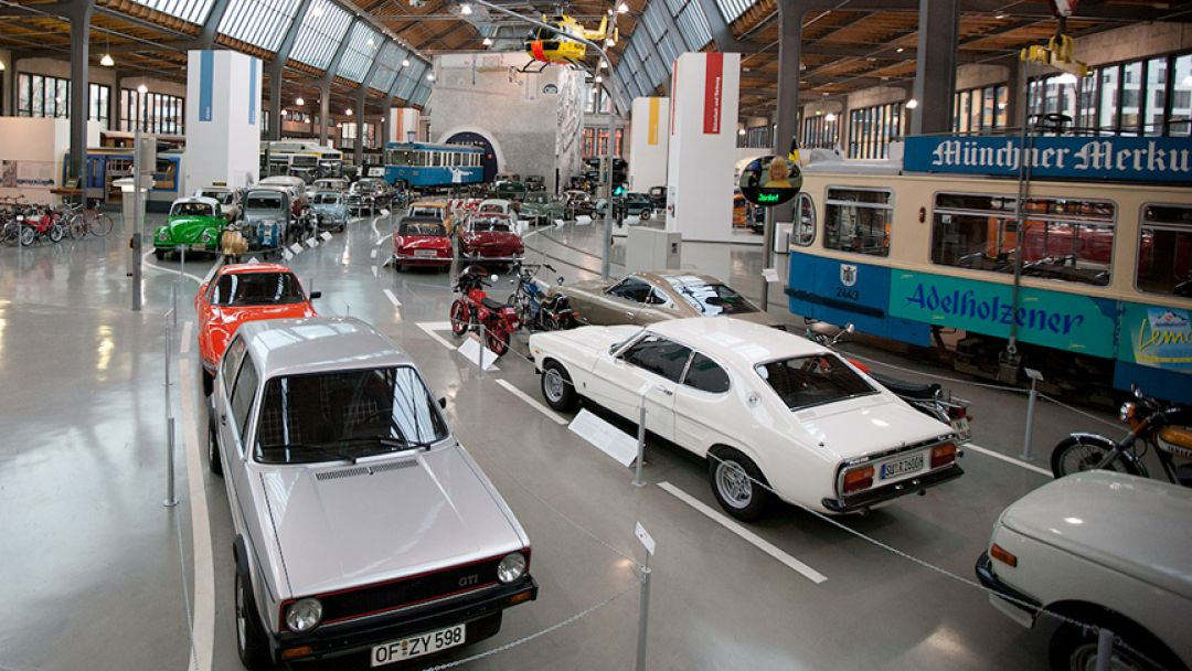 Немецкий музей - история техники - фото 2