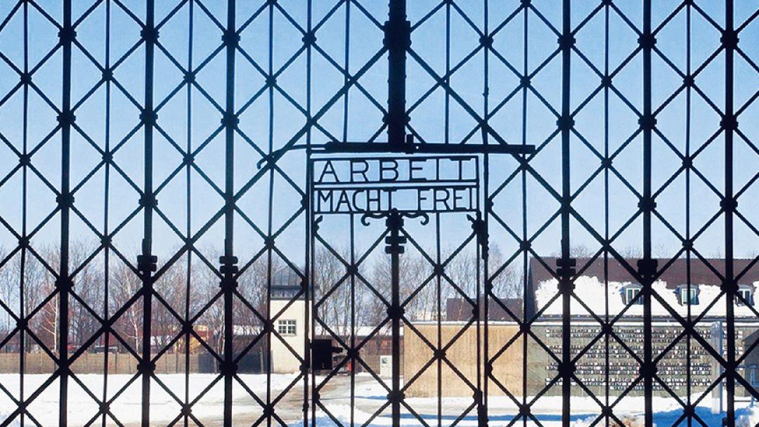 Мемориал в бывшем концлагере Дахау в Мюнхене