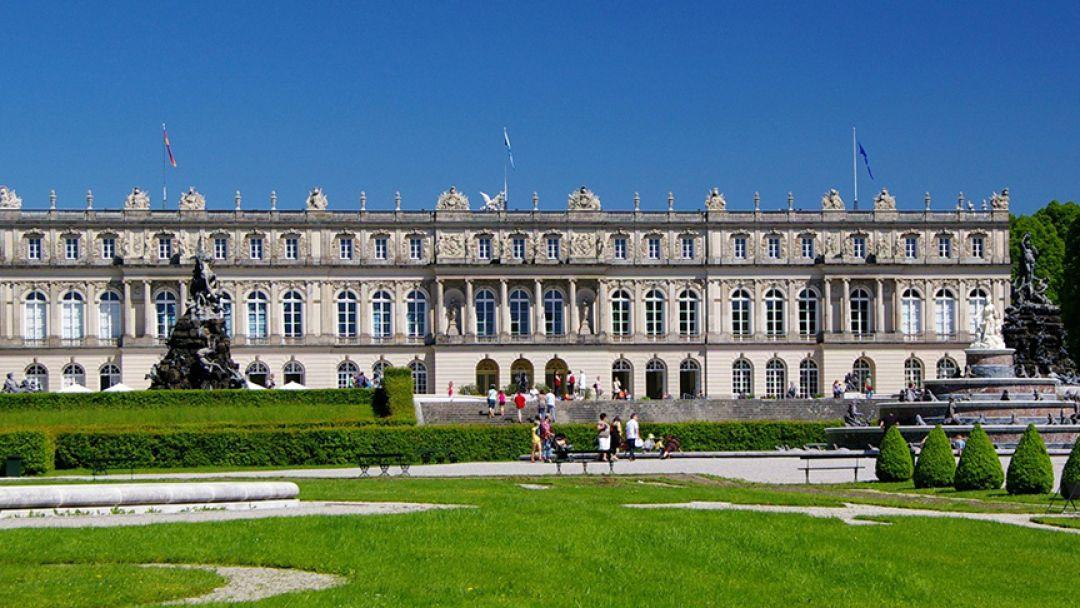 Замок Баварский Версаль - Херренкимзее в Мюнхене