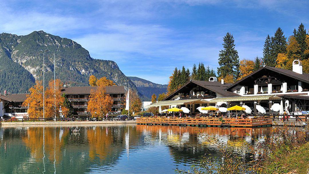 Гармиш - Партенкирхен горы, водопады, озера в Мюнхене