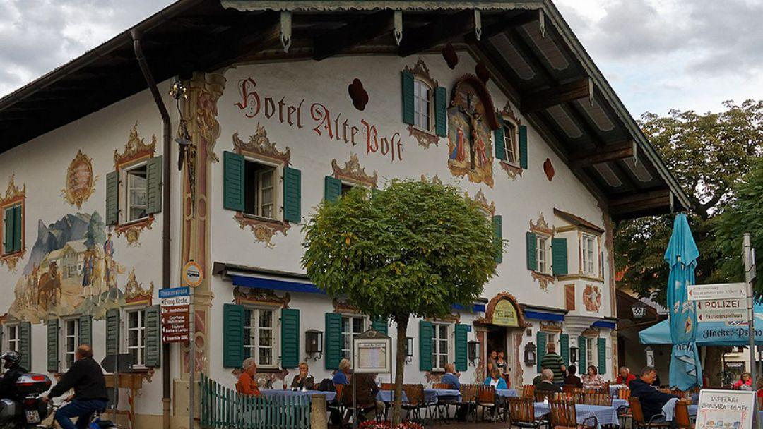 Баварская деревня – люди, горы, блюда и напитки баварцев в Мюнхене