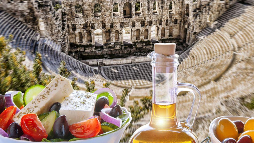 О вкусной и здоровой пище по-гречески - фото 1