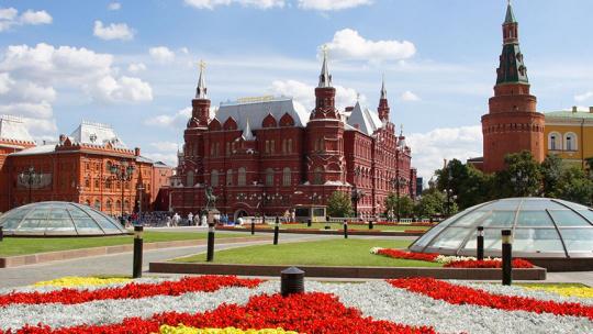 Экскурсия Москва - город контрастов по Москве