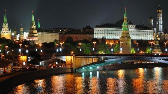 Экскурсия Огни большого города, языковая экскурсия по Москве