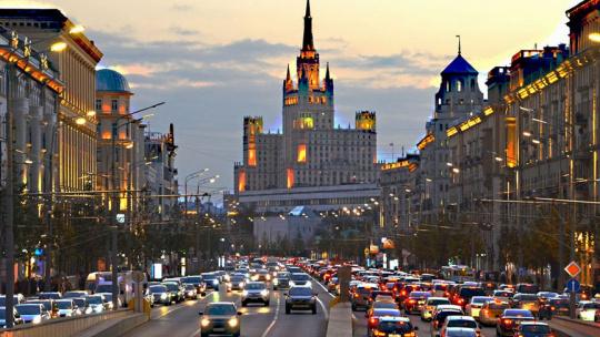 Экскурсия Кольца и ожерелья Москвы по Москве
