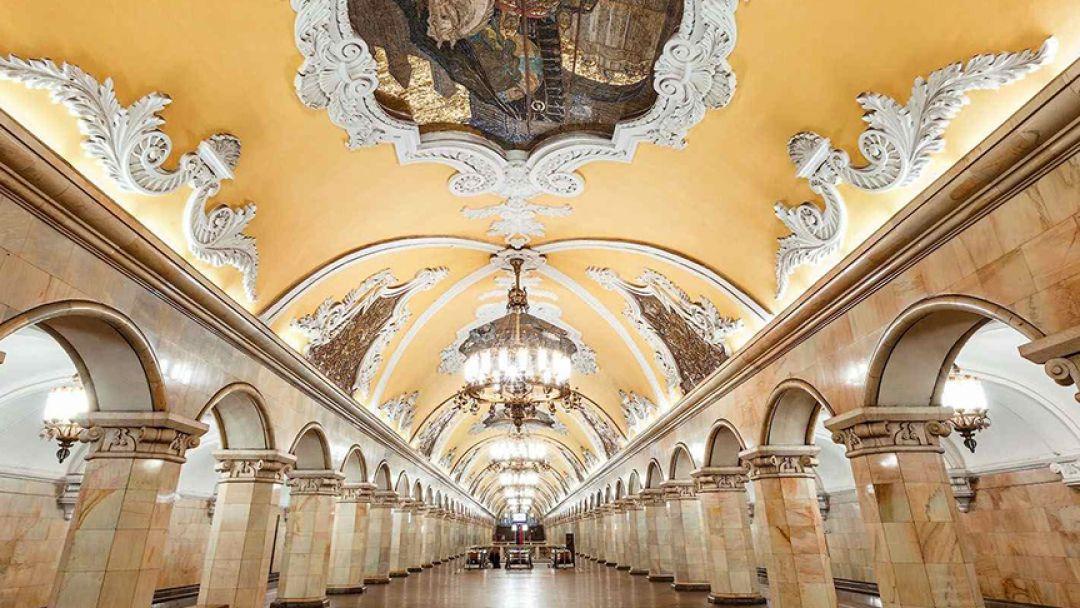 Подземные дворцы Москвы, языковая экскурсия - фото 3