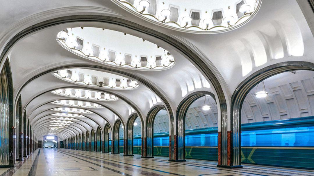 Подземные дворцы Москвы, языковая экскурсия - фото 2