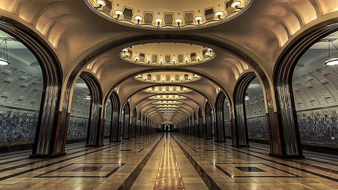 Подземные дворцы Москвы, языковая экскурсия - фото 1