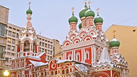 Экскурсия Переулками Китай-города по Москве