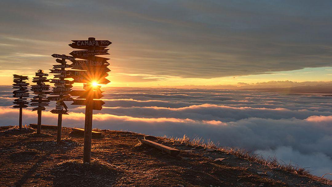 Рассвет на Машуке (скандинавская ходьба) в Пятигорске