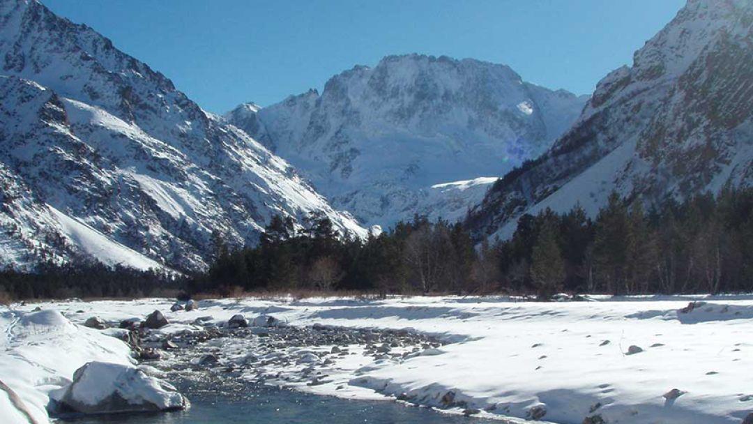 Мать гора Уллу-Тау на джипе - фото 3