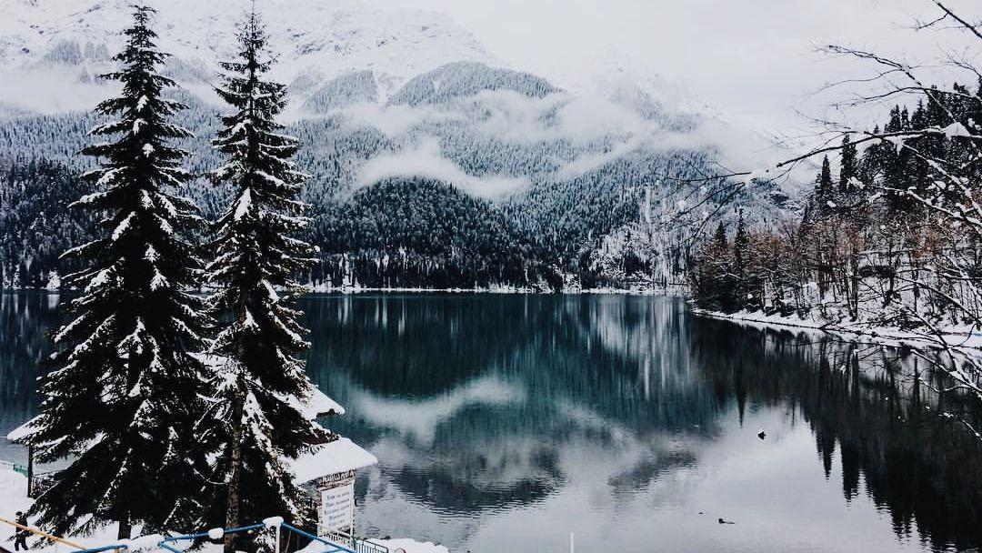 Экскурсия Абхазия: Зимняя Рица