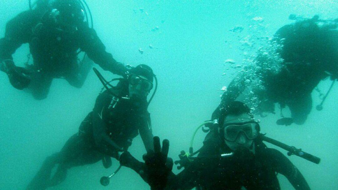 Дайвинг, погружение с аквалангом в Черном море с катера - фото 2
