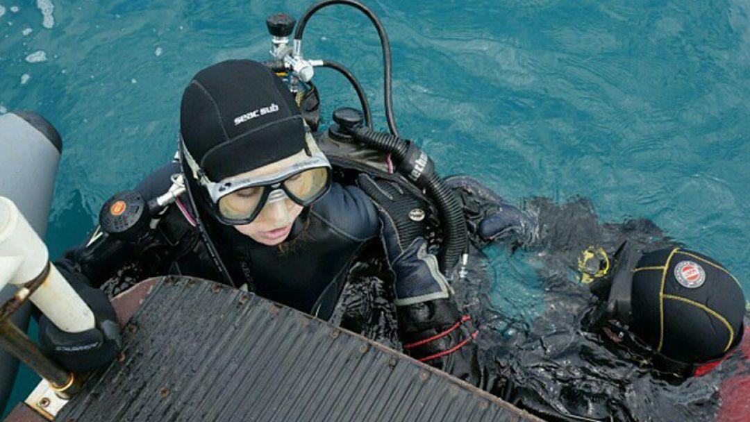 Дайвинг, погружение с аквалангом в Черном море с катера - фото 3