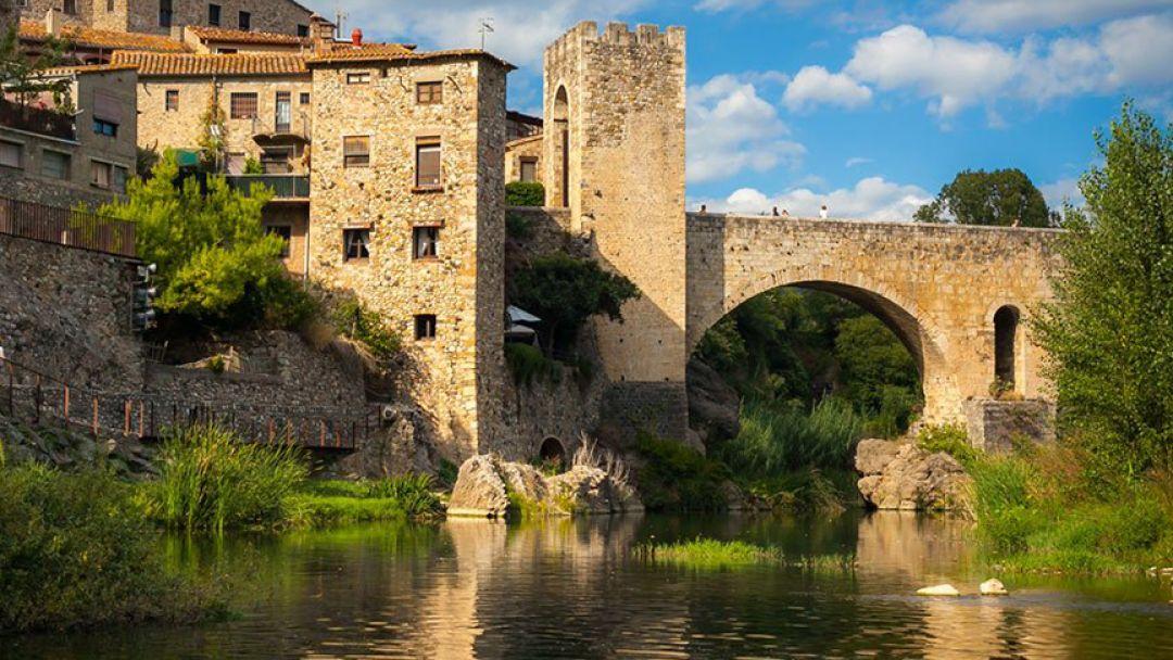 Жирона и средневековое графство Бесалу в Барселоне