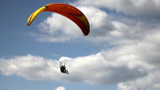 Полет на параплане в Каче - фото 3