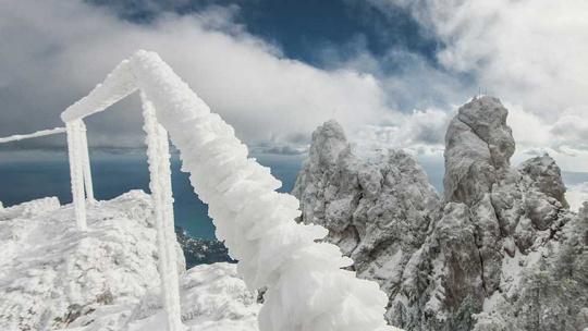 Экскурсия Зима на Ай-Петри в Ялте