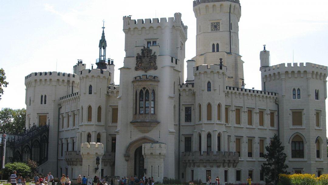 Чешский Крумлов и Замок Глубоко над Влатвой - фото 3