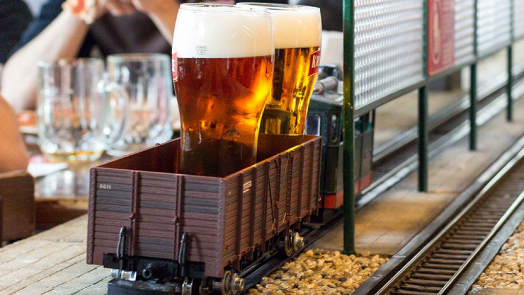 Пивная Прага с Чехом