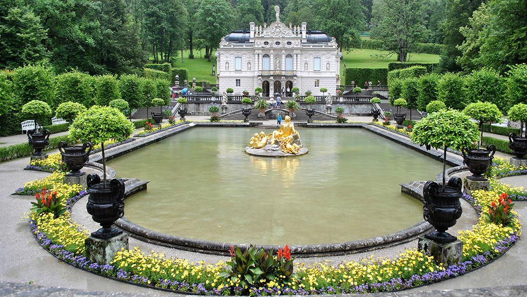 Дворец Линдерхоф - фото 3