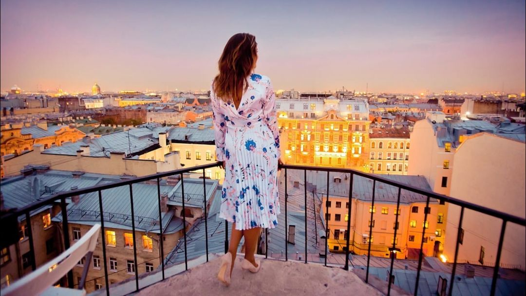Романтическое свидание на крыше - фото 2