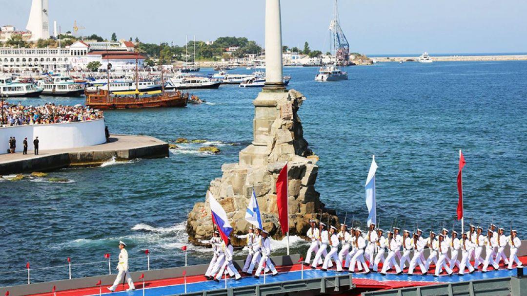 День военно-морского флота в Севастополе 26 июля 2020г. - фото 1