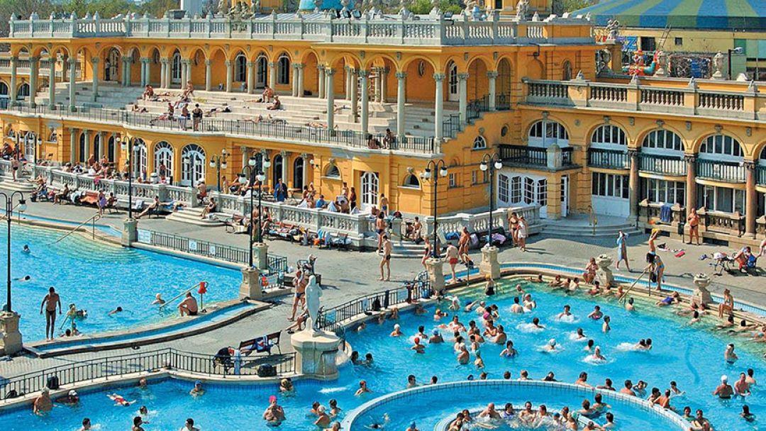 Экскурсионное посещение термальной купальни Будапешта - фото 3