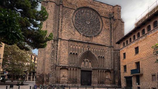 Санта Мария дель Пино по Барселоне
