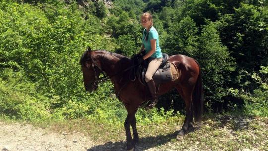 """Экскурсия На лошадях """"В Урочище Глубокая Балка"""" в Адлере"""
