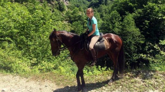 """Экскурсия На лошадях """"В Урочище Глубокая Балка"""" в Анапе"""
