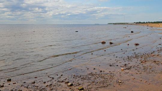 Финский залив в Санкт-Петербурге