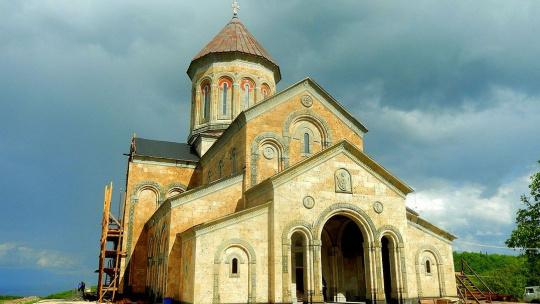 Монастырь Бодбе в Тбилиси